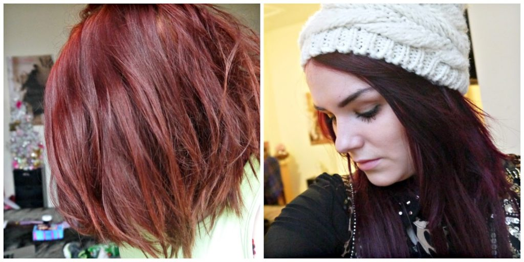 How to achieve dark purple / violet hair at home