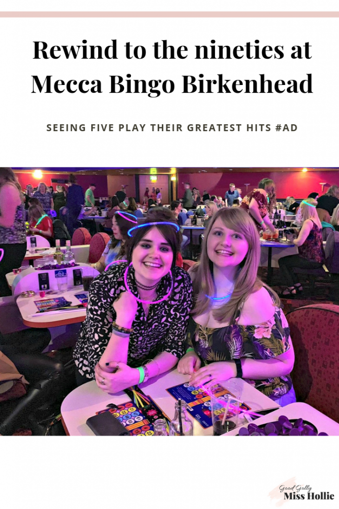 Rewind to the nineties at Mecca Bingo Birkenhead // Seeing Five play their greatest hits #AD