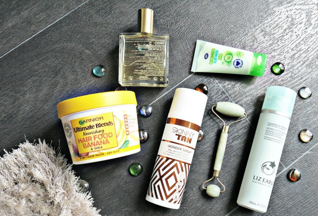Pamper products for when you're wearing stress on your face