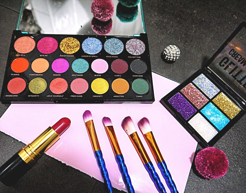 Party Makeup // Using Makeup Revolution's Carmi 'Make Magic' Palette & More